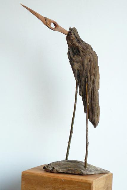 Vogels van wrakhout - Reiger