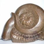 Varenknop van natuursteen